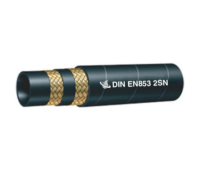 Steel Wire Braided Hose DIN EN853 2SN